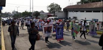 Ni perdón ni olvido, madres de desaparecidos marchan en Xalapa