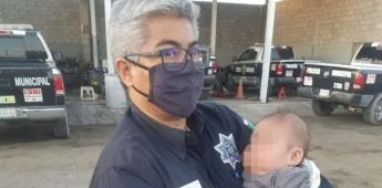 Abandonan a bebé en calles de San Luis Río Colorado, Sonora