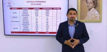Secretaría de Salud BC omite el tema de las consecuencias de la postergación de la vacuna Sinovac