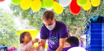 Fundación esperanza contigo celebra el día del niño en tres casas hogar de Tijuana