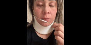 Mujer fue golpeada por su marido estando embarazada de tres meses