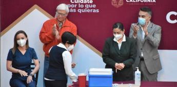 Día de la Enfermería: Reconoce Ruiz Uribe a los Héroes de Baja California