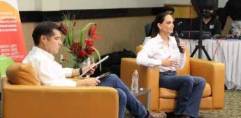Lupita Jones escucha inquietudes de la asociación todos somos Mexicali