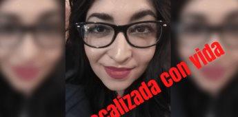 Localizan con vida a Mayra Guadalupe en Sonora