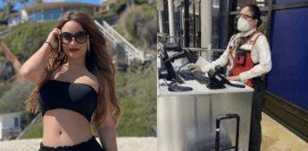 Detienen a la ex de Lupillo Rivera, Mayeli Alonso por pleito en aeropuerto de Los Cabos