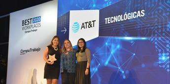 AT&T México: una de las 5 mejores empresas para trabajar.