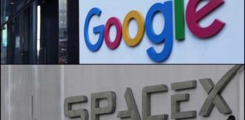 Google y SpaceX llegan a acuerdo para impulsar la nube empresarial