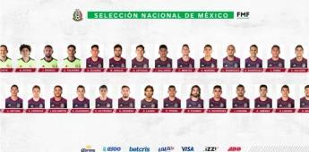 Dan a conocer la lista de jugadores convocados a la Selección