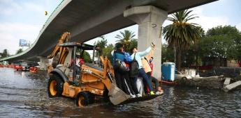 Agua potable inunda Cuemanco