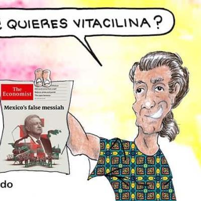 Arremete AMLO contra The Economist; es majadera y mentirosa