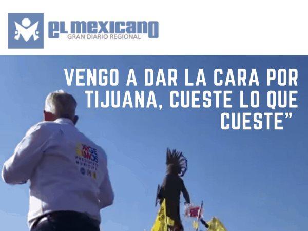 Cuando tomé la decisión de salir y dar la cara por #Tijuana, no me importaba perder o ganar.