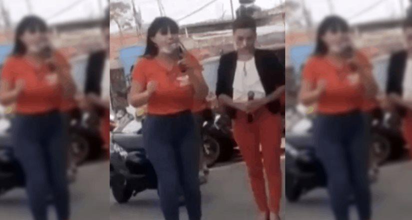 Difunden el momento exacto en el que Alma Barragán es asesinada en pleno mitin el pasado 25 de Mayo