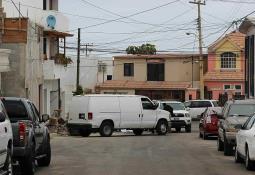 Acribillan a conductor en fraccionamiento Sonora
