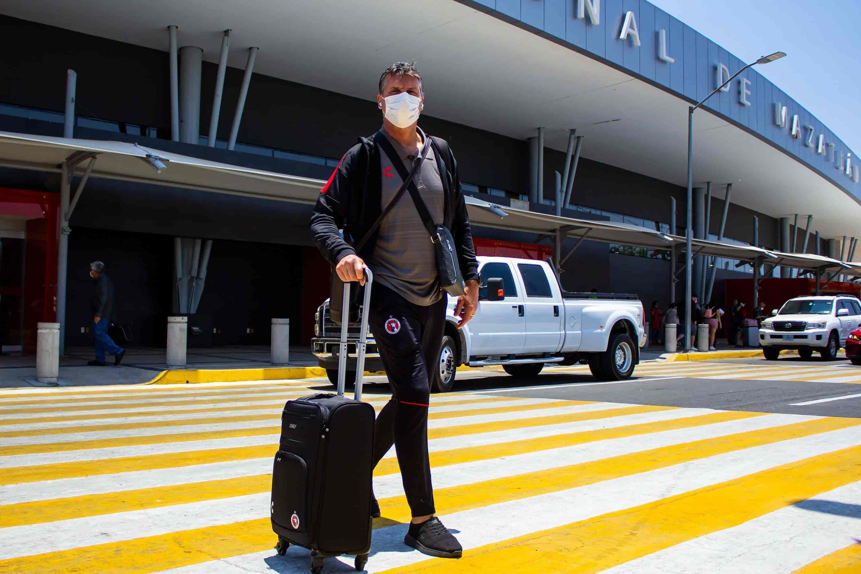 Xolos llega a Mazatlán para iniciar pretemporada.