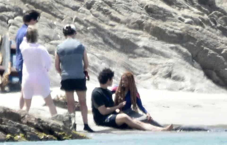 Filtran primeras imágenes de Halle Bailey interpretando a Ariel en el live-action de La Sirenita