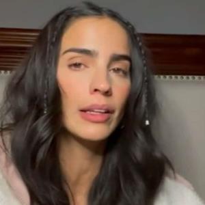 Bárbara de Regil confiesa que está afectada por los ataques en redes.