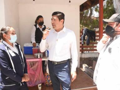 Reitera alcalde Armando Ayala Robles invitación a la población de 18 a 39 años a vacunarse con el COVID-19