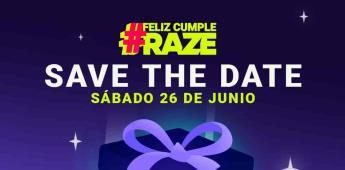 ¡Feliz cumpleaños, RAZE!