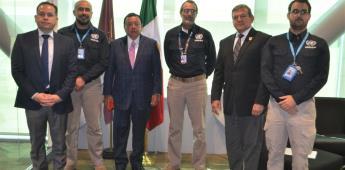 La FGE establece coordinación con el departamento de seguridad de las naciones unidas