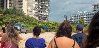 Siguen los trabajos sin descanso para encontrar víctimas en Miami