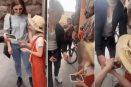 Tiktoker es exhibido quitándole el celular que le regaló a una niña