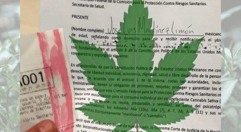 ¿Quiénes pueden tramitar un permiso para consumir marihuana?