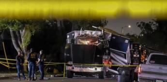 Explosión deja 17 heridos tras una detonación fallida en un camión antibombas en Los Ángeles