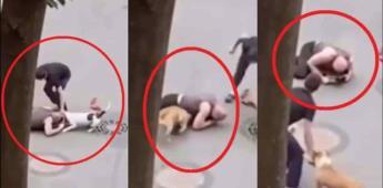 El perro es el mejor amigo del hombre: Ruso pone en riesgo su vida para salvar a su mascota