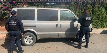 Fiscalía Estatal recupera dos automóviles con reporte de robo