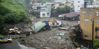 Dos muertos y una decena de desaparecidos tras un deslizamiento de tierra en Japón