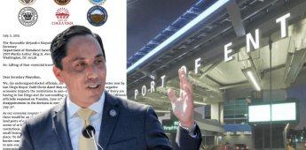 Alcalde de San Diego: Restricciones fronterizas entre México- EEUU deben terminar ya