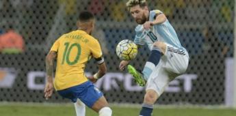 Cuál fue la otra final que jugaron Messi vs Neymar