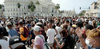 Estados Unidos buscará apoyo para el pueblo cubano ante las recientes protestas