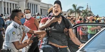 Estallan en Cuba contra régimen de Díaz-Canel