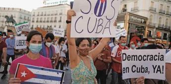 Cuba, blindada tras protestas; buscan a desaparecidos
