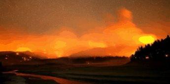 Evacúan a 400 personas por incendio en el Parque Nacional de Yosemite, California