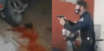 Cuba: Agentes del régimen allanan una vivienda y le disparan a un hombre frente a niños