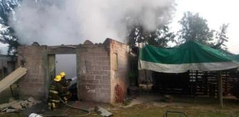 Explota taller de pirotecnia clandestino en Tultepec