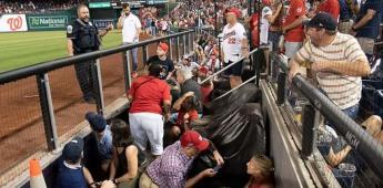 Suspenden juego de Los Padres vs. Nationals tras tiroteo fuera del estadio, se reportan heridos