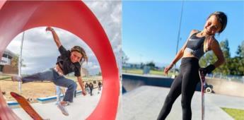Sky Brown, la skater de 13 años que debutará en los Olímpicos