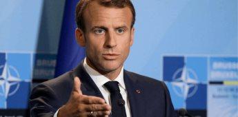 El Presidente de Francia Emmanuel Macron, lanza discurso contundente respecto al COVID-19 en su país