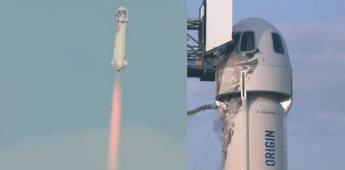 El millonario Jeff Bezos viajó al espacio partiendo desde Texas
