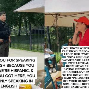 Corren a mexicana y su familia de una alberca en EU