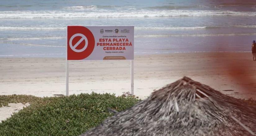 Ante contaminación de Playa Hermosa, presenta Gobierno Municipal denuncia ante la Profepa