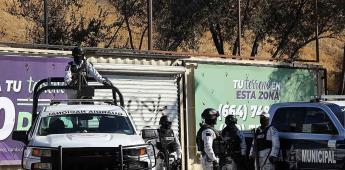 Ataque armado en Cañón de Saiz, deja un oficial herido.