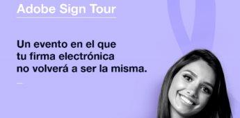 Adobe Sign Tour, un evento para líderes de negocios.