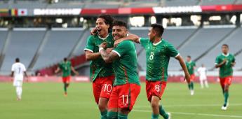 México humilla a Francia en su debut en Tokio 2020; golea 4-1