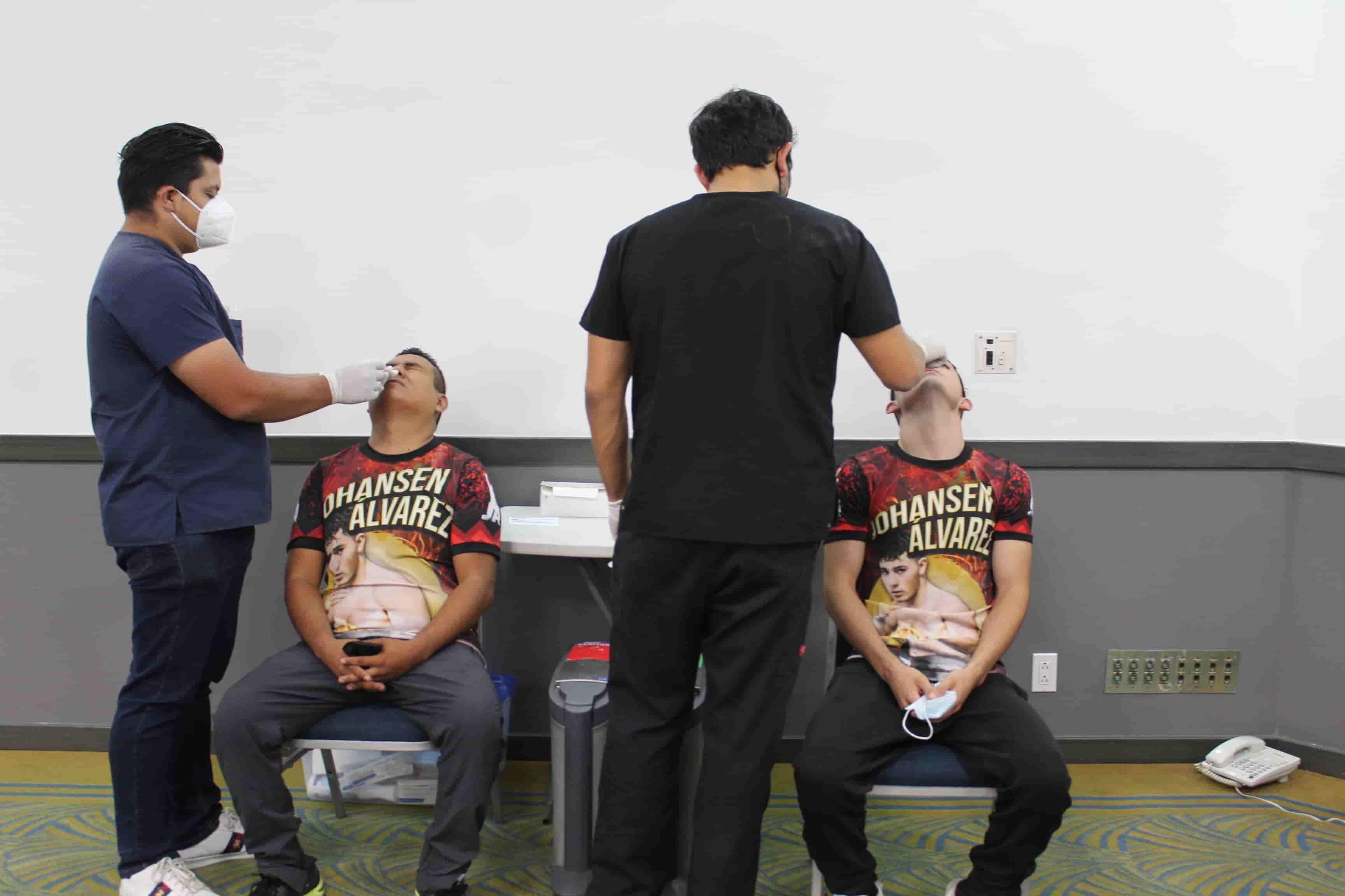Se llevó a cabo el pesaje para los concursantes de BX Royal Night