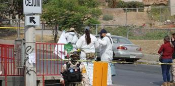 Se encontraron  restos humanos en tres puntos de la delegación Sánchez Taboada.