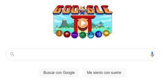 Doodle de Google, un videojuego para homenajear a los Juegos Olímpicos de Tokio 2020